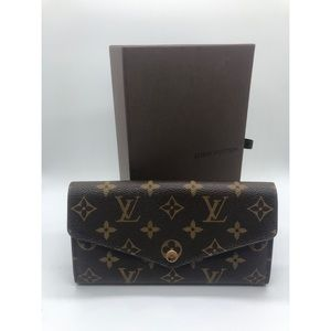 Louis Vuitton Sarah wallet new version Felicie WOC